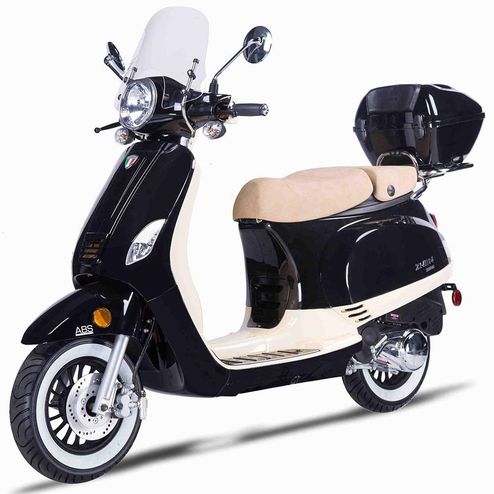 Amigo Avenza 150 Vespa Clone Scooter - Black