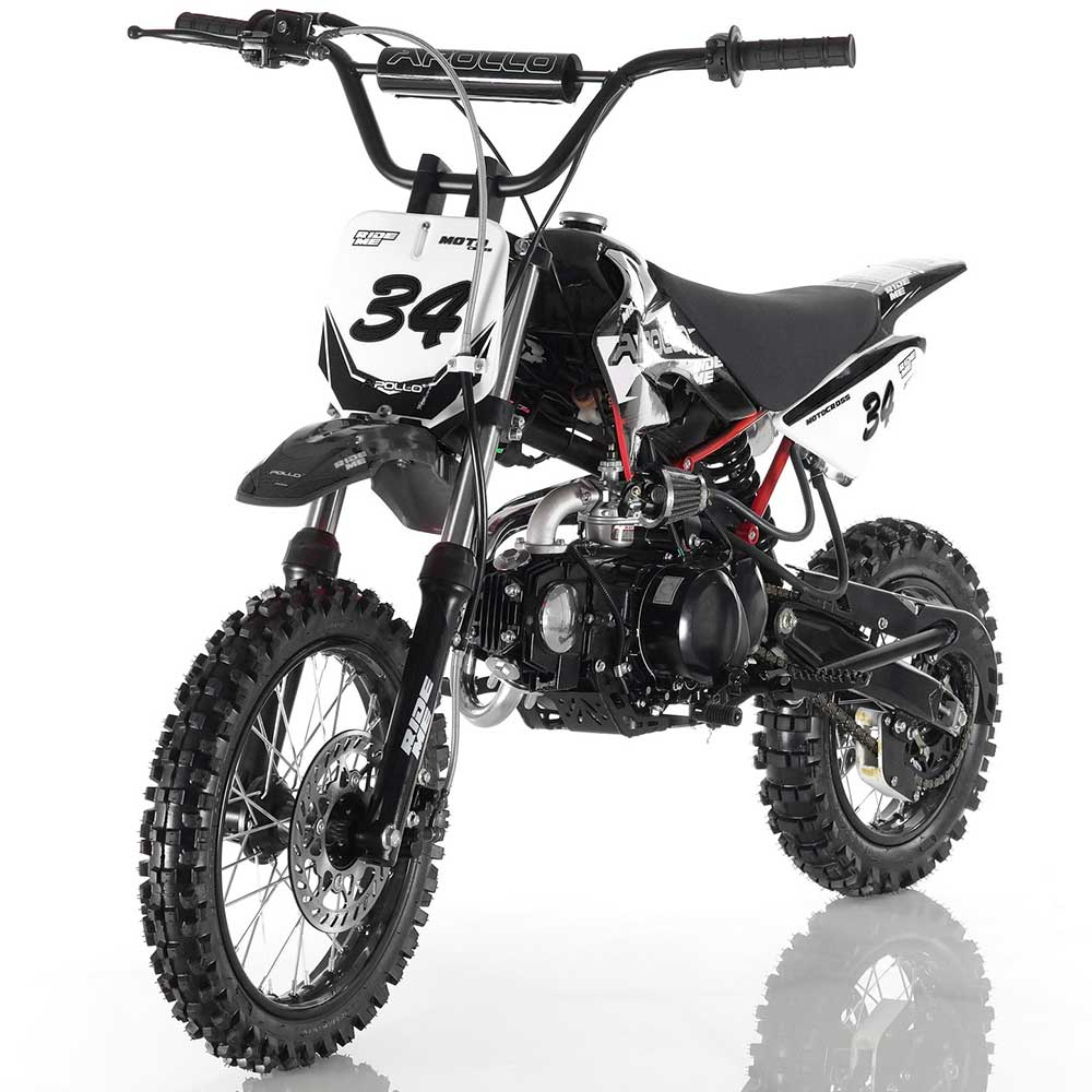 Apollo DB-34 Dirt Bike - Black