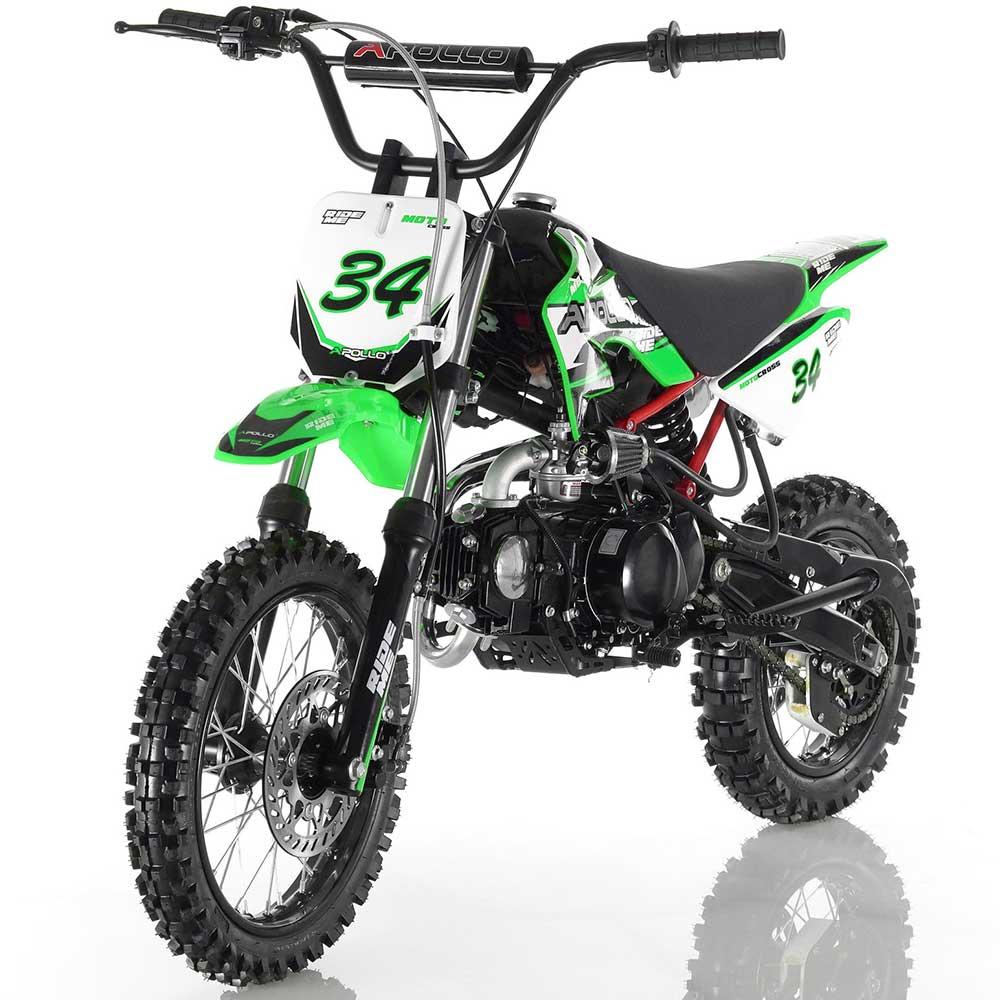 Apollo DB-34 Dirt Bike - Green
