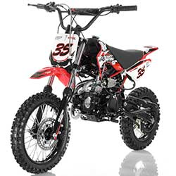 Apollo DB-35 125cc Mid-Size Dirt Bike