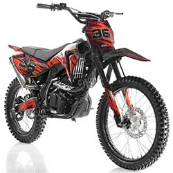 Apollo DB-36 250cc Adult Dirt Bike