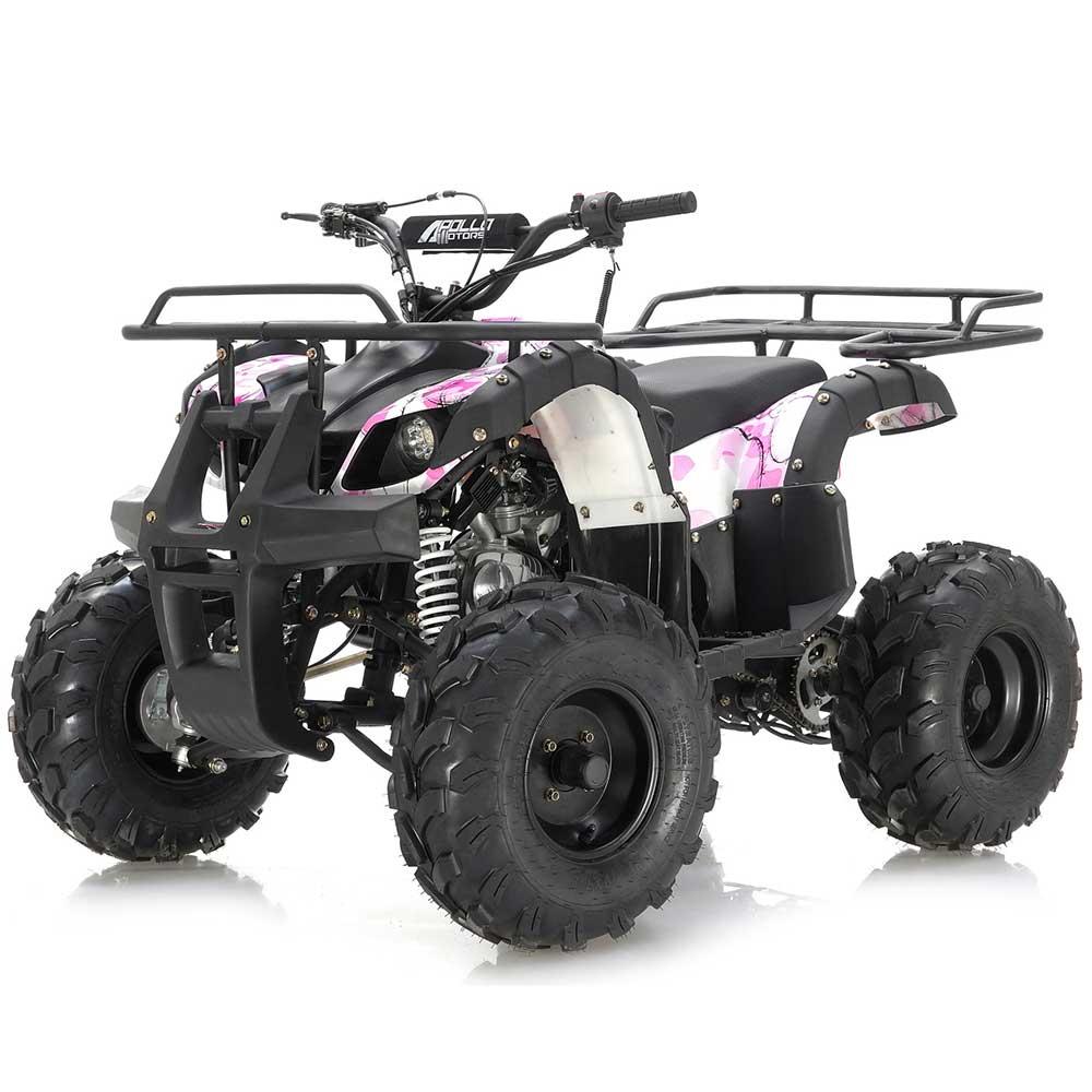 Apollo Focus 125 ATV - Pink camo