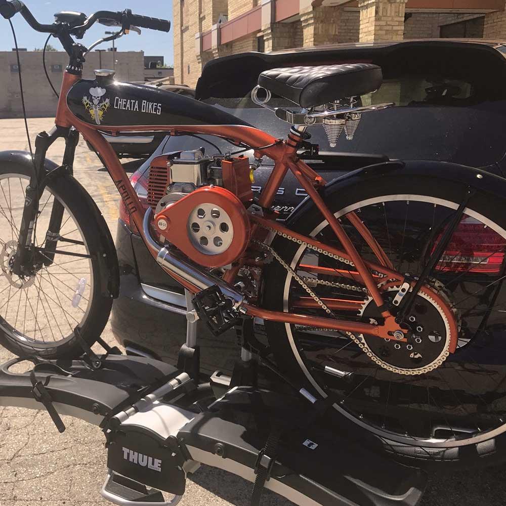 Cheata Bikes Apollo Motorized Bicycle