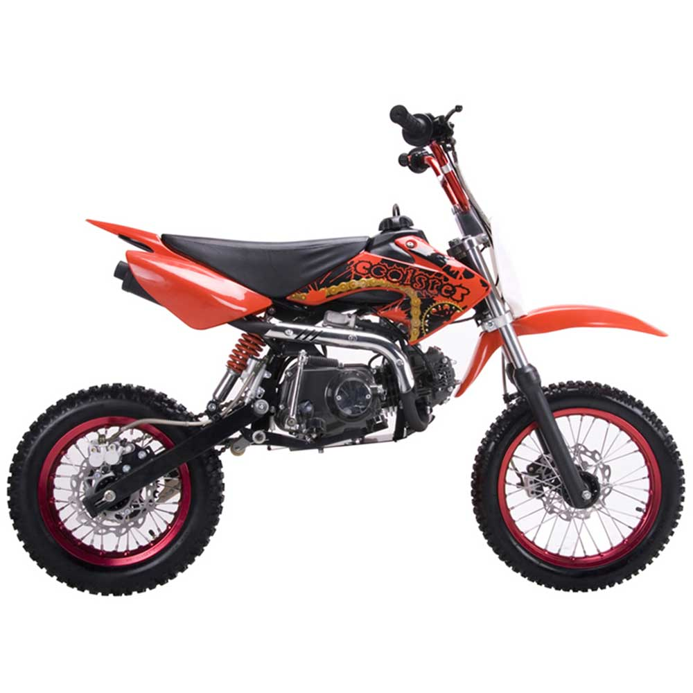 coolster qg 214 125cc youth motocross dirt bike. Black Bedroom Furniture Sets. Home Design Ideas