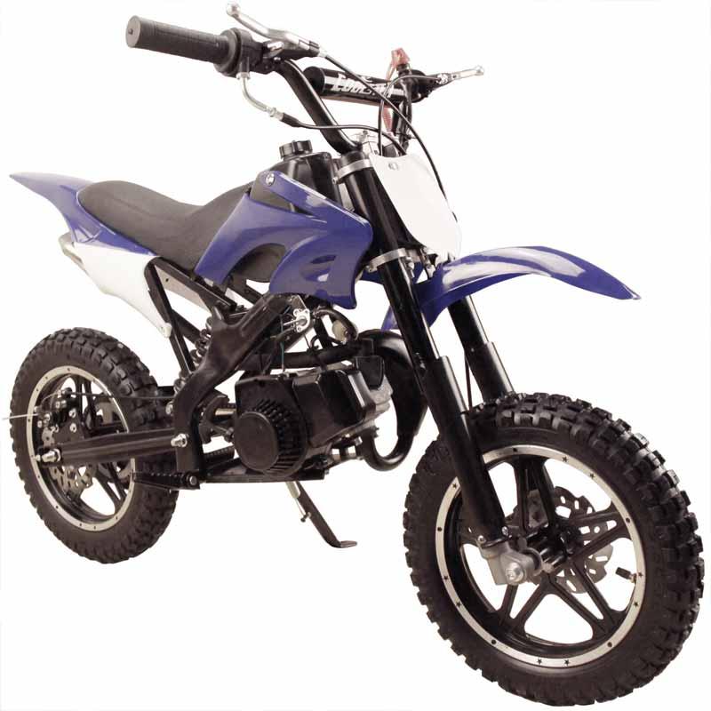 Coolster qg50x kids dirt bike blue