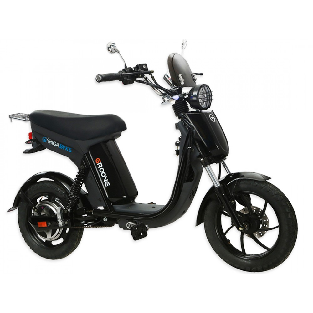 Gigabyke groove 750w electric motorized bike for Motorized scooters for adults