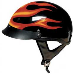 Shorty and Beanie Motorcycle Helmets