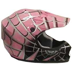 MXC Spider Web Youth MotoCross Helmet