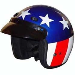 Easy Rider 3/4 Shell Motorcycle Helmet