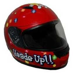Youth M&M Full Face Helmet