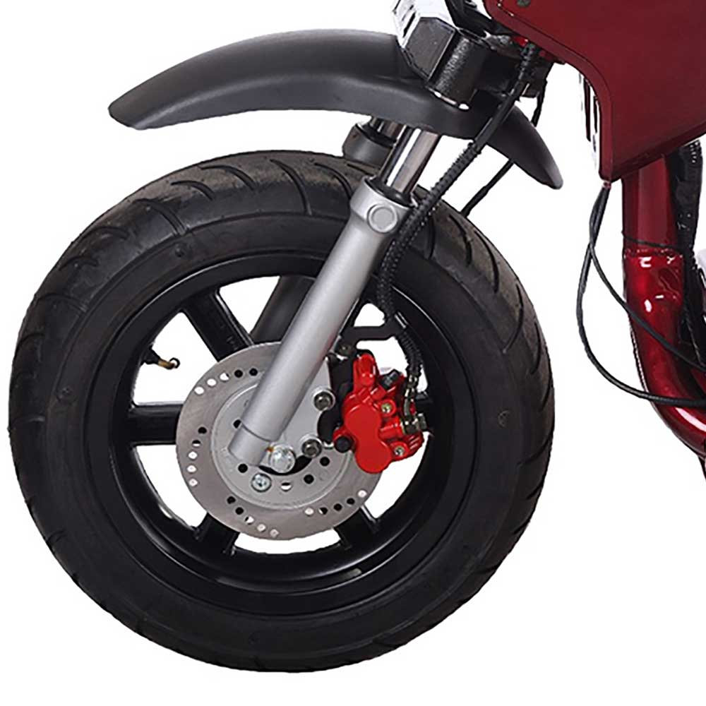 Ib Pmz Front Brake on 50cc Pocket Bike Frame