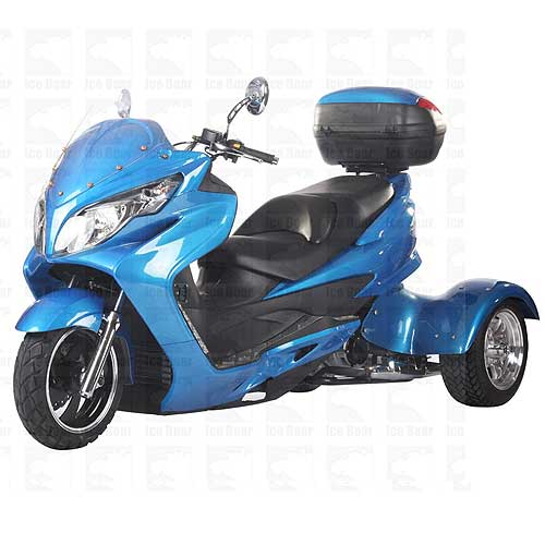 Best Buy Military Discount >> Ice Bear Tornado PST300C 300cc Trike Scooter