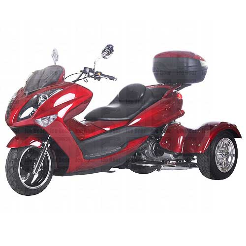 Ice bear magnum pst300r 300cc trike scooter for 3 wheel motor scooters for adults