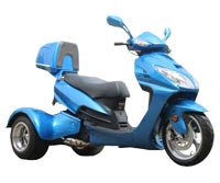 Ice Bear Eagle 150-7 Trike Scooter (Color: Blue)