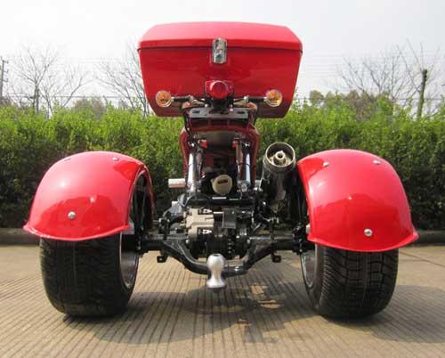 Trike Rear on 150cc Atv