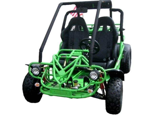 Green Go Kart