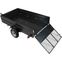 Northstar Multistar Multi-Use Utility Trailer With Ramp Gate