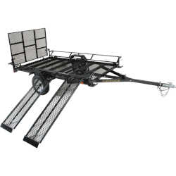 Northstar Sportstar II Utility Trailer With Ramps And Gate