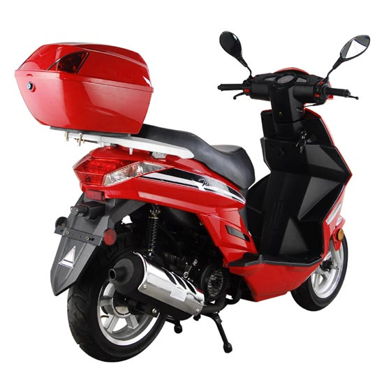 Cy A Red Rear Right on Used Super Pocket Bikes