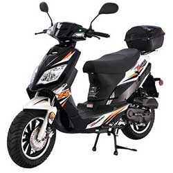 Tao Thunder 49cc Scooter - Black