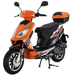 Tao Thunder 49cc Scooter - Orange