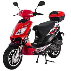 Tao Thunder 49cc Scooter - Red