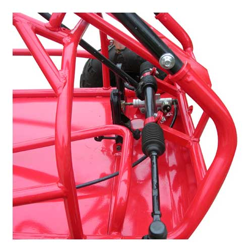 Tm Mid Xrs Red Steering Linkage