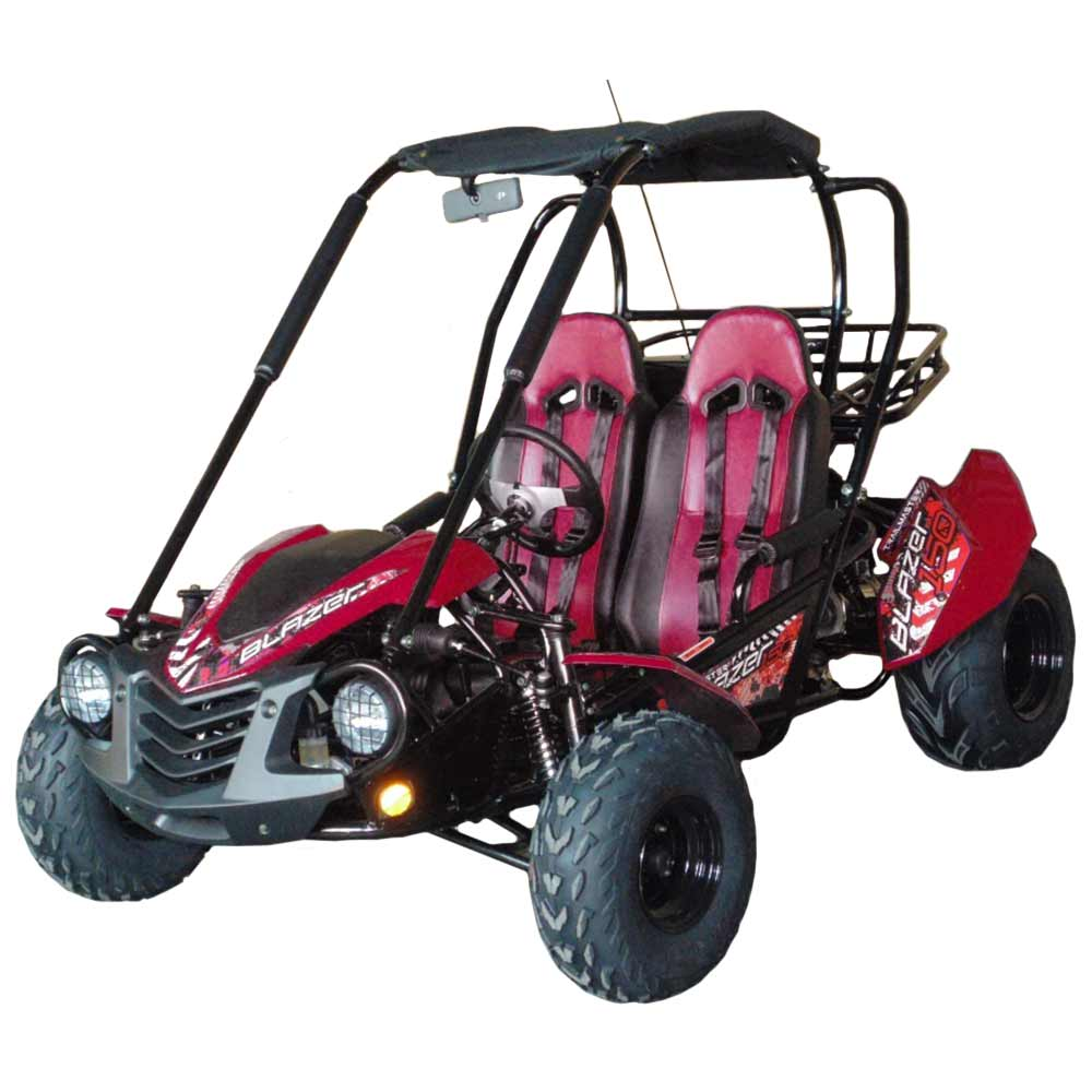 Trailmaster Blazer 150 Adult Gokart Ground Force Electric Go Kart Parts Diagram