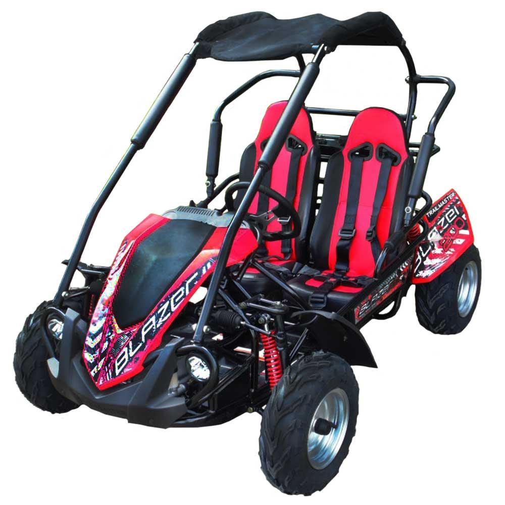 Tm Dirt Bikes >> TrailMaster Blazer 200R Mid Size GoKart