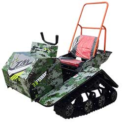 TrailMaster Super Traxx 200 Track Kart Utility Vehicle