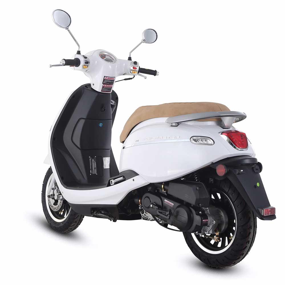 TrailMaster Turino 50A Scooter - White